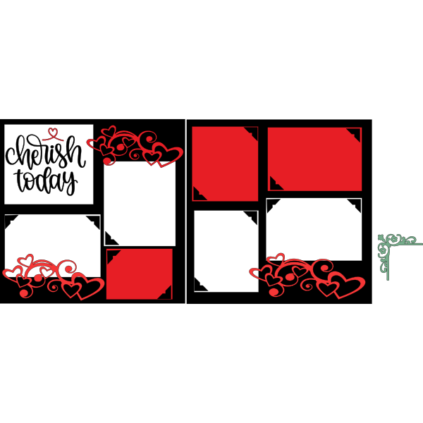 CHERISH TODAY  -basic page kit