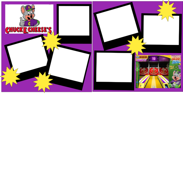 CHUCKY CHEESE  -basic page kit