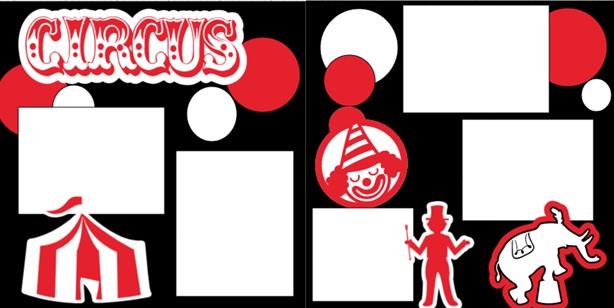 CIRCUS  -basic page kit