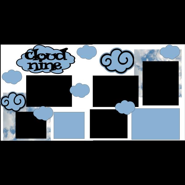 CLOUD NINE  -basic page kit