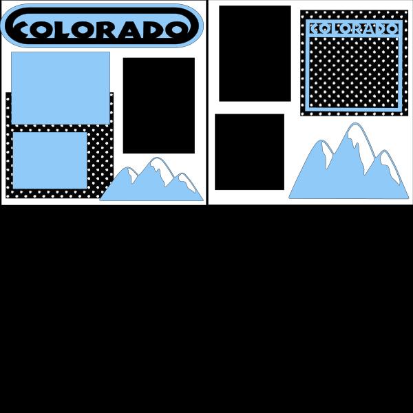COLORADO  -basic page kit