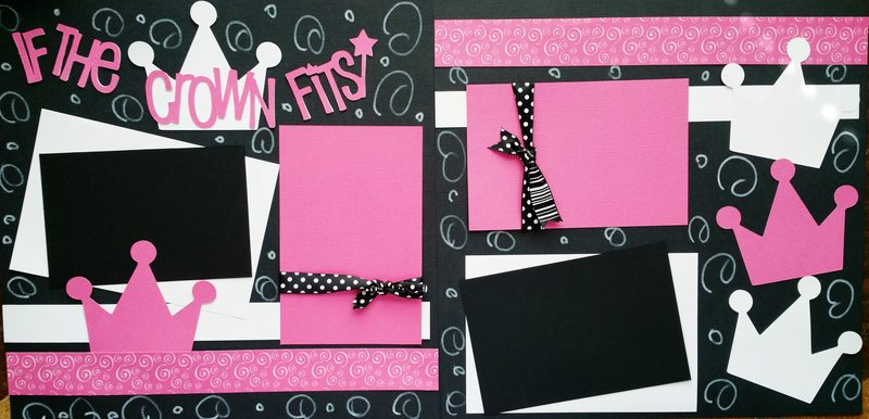 "PRINCESS ""IF THE CROWN FITS""  page kit"