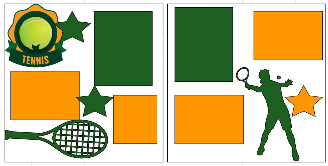 Tennis-  page kit
