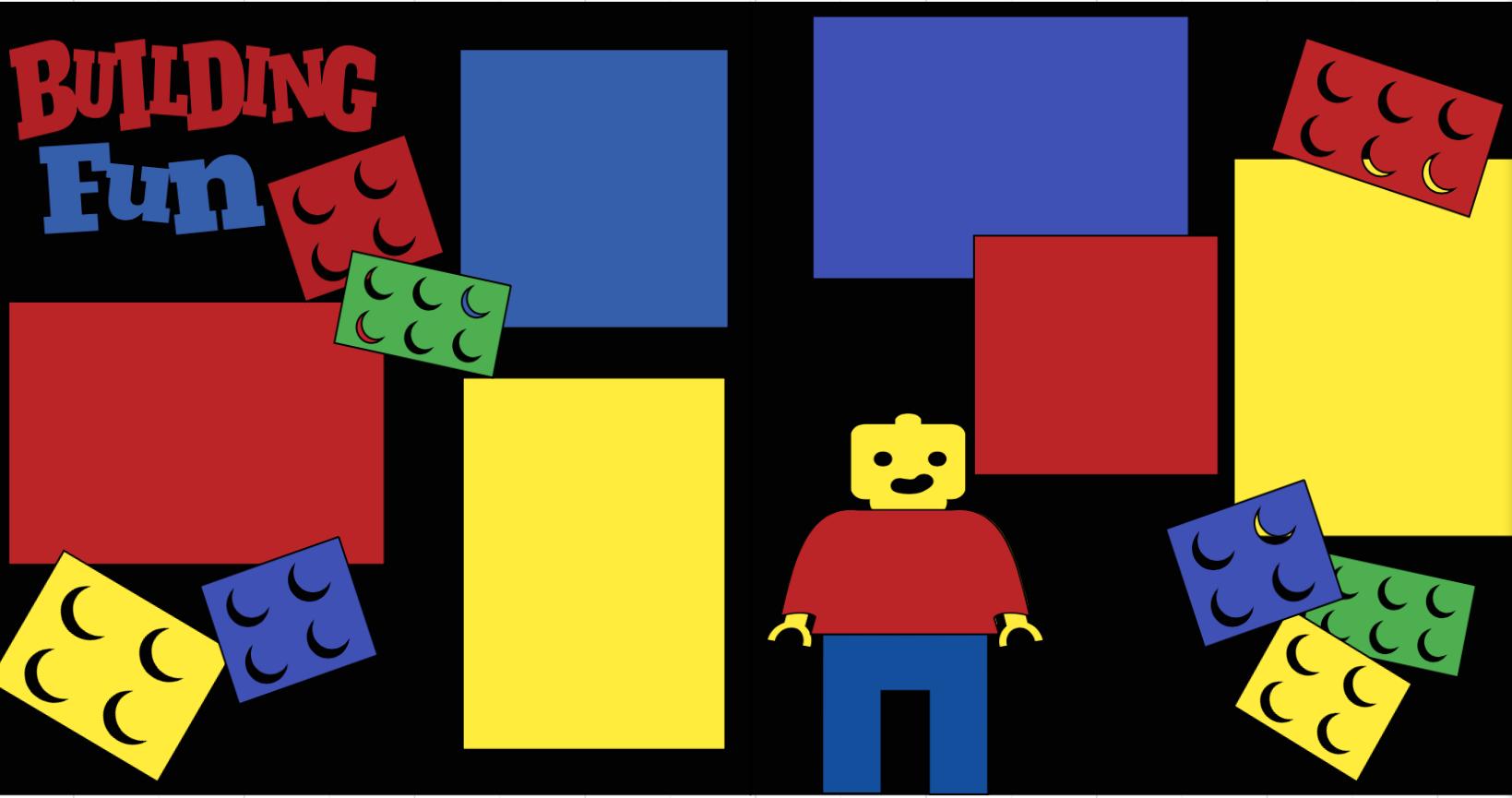 LEGO block fun-  page kit
