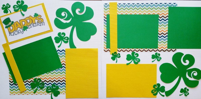 DADDYS LUCKY CHARM   page kit