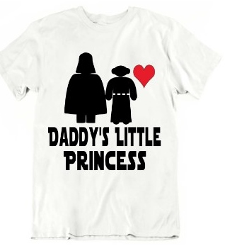 DADDYS LITTLE PRINCESS T-SHIRT