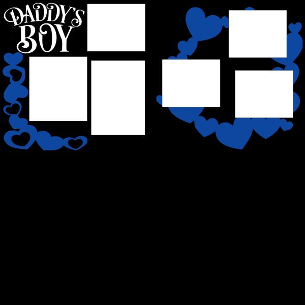 DADDY'S BOY   -basic page kit