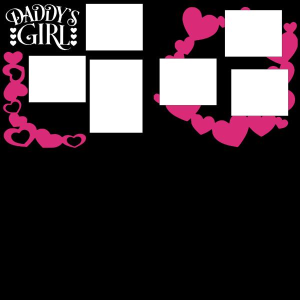 DADDY'S GIRL  -basic page kit