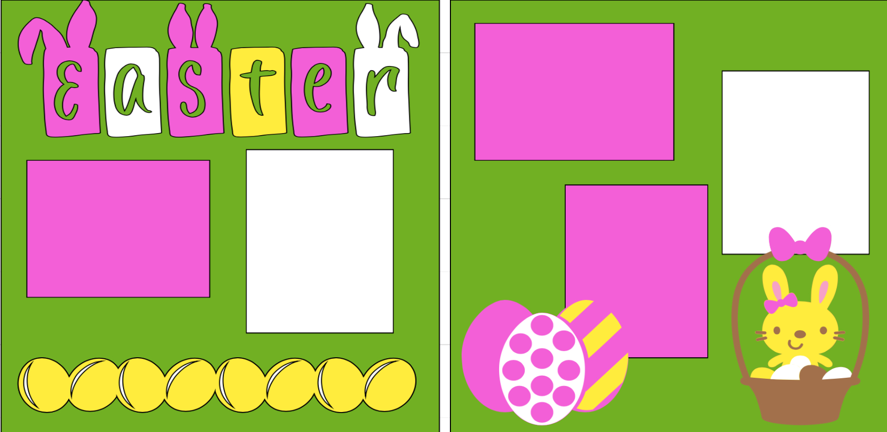 EASTER -  page kit