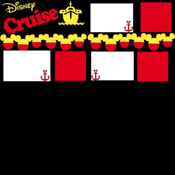 Disney Cruise  page kit