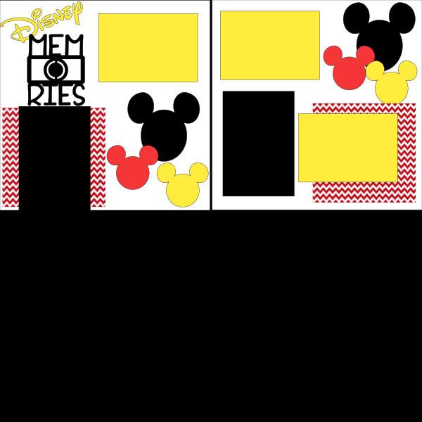 Disney  memories *-*  page kit