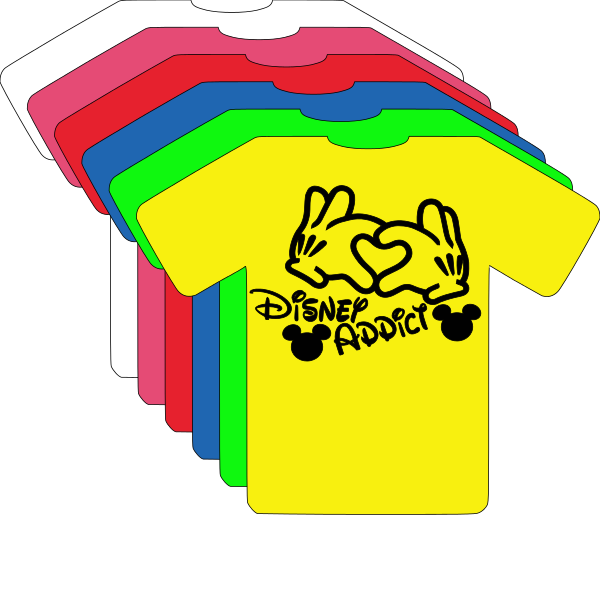 T-SHIRT DISNEY ADDICT