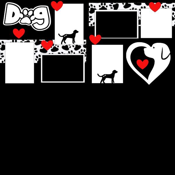 THE DOG   -basic page kit