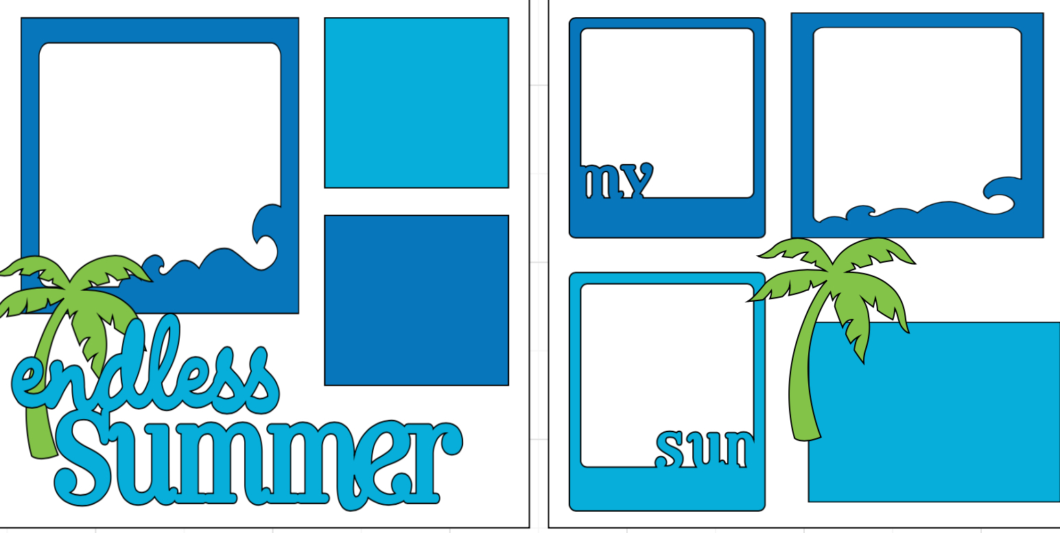 Endless Summer-  page kit