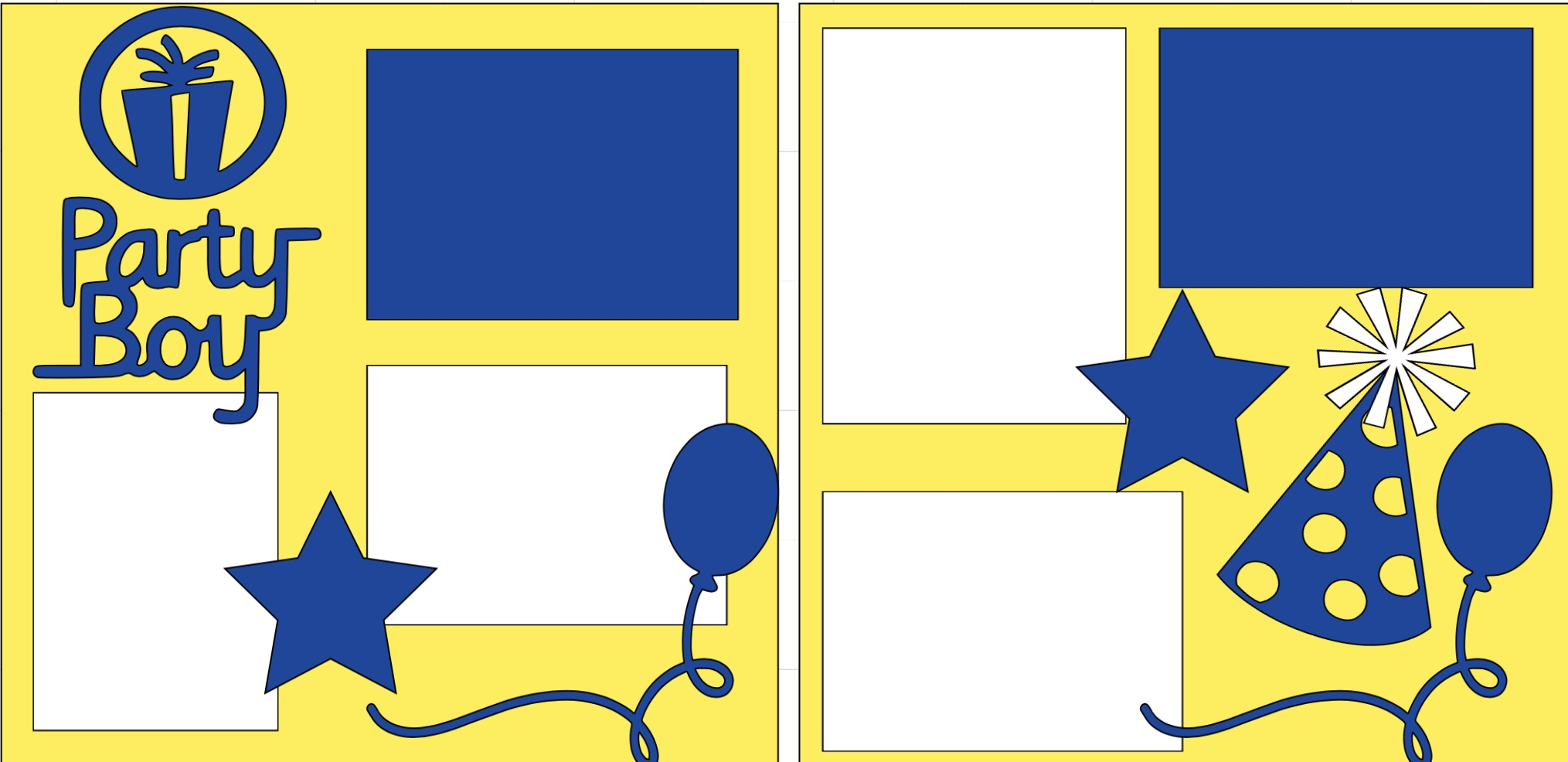 Party Boy--  page kit
