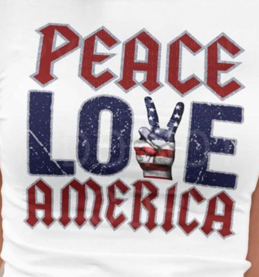 Peace love America 2