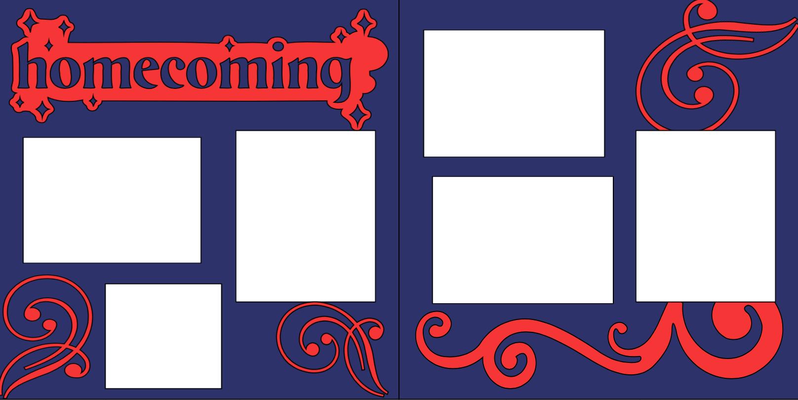 Homecoming  -  page kit