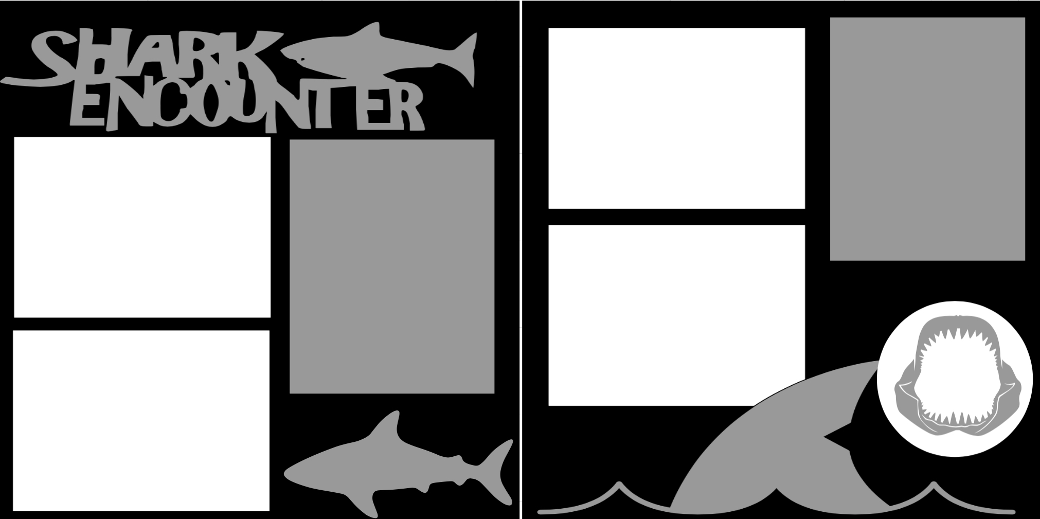 Shark Encounter aquarium-zoo- -  page kit