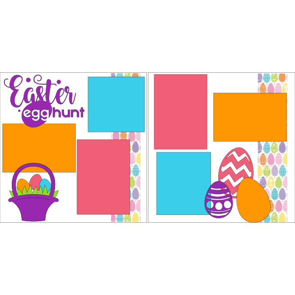 EASTER EGG HUNT *** -basic page kit