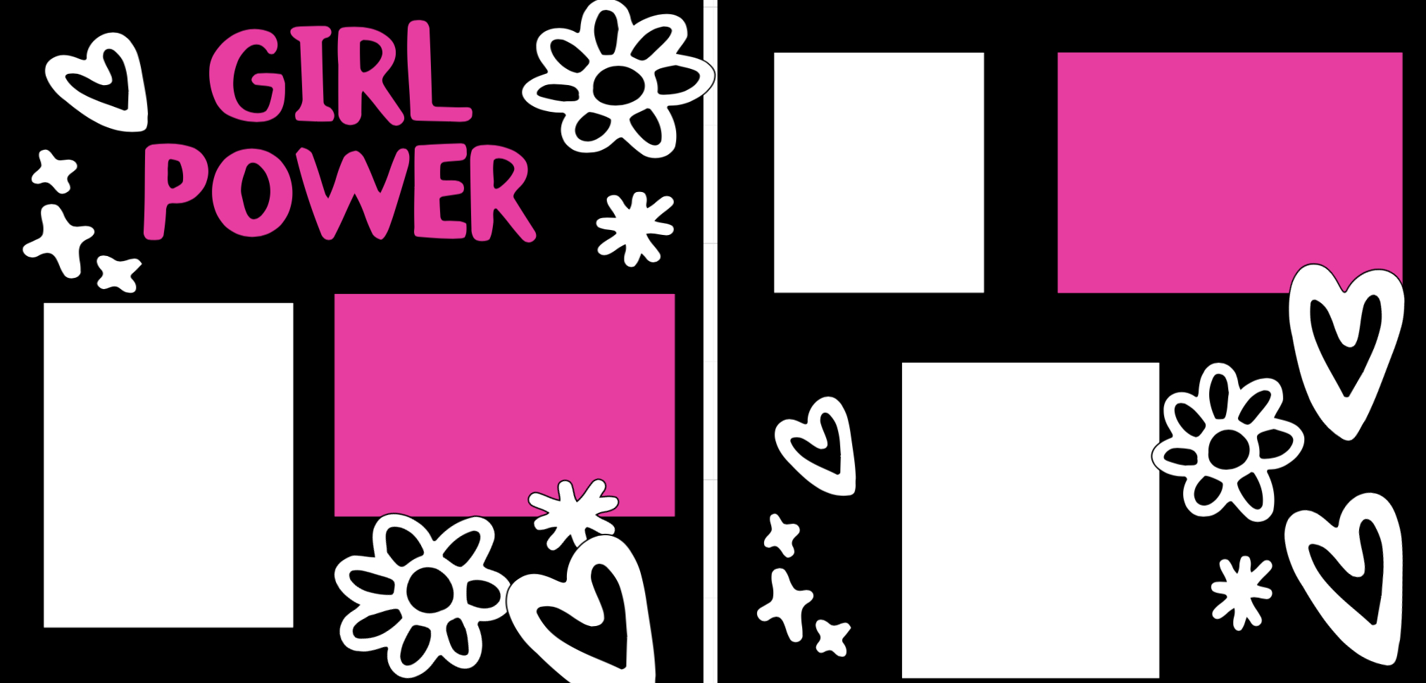 Girl Power-  page kit