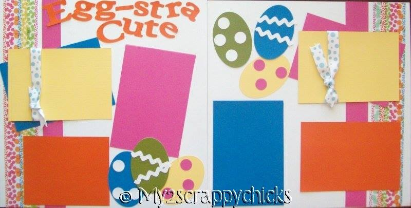 Egg-stra Cute  -- EASTER   Page Kit