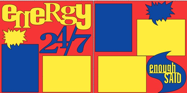 ENERGY 24-7  -  page kit