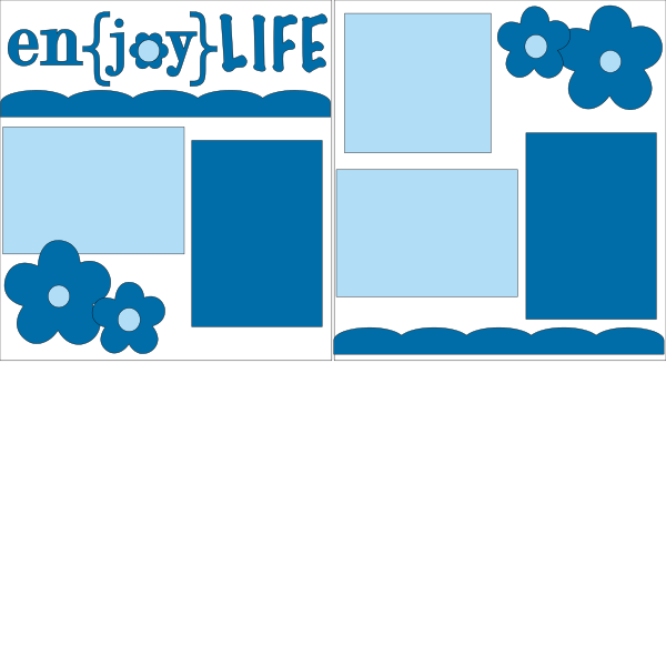 ENJOY LIFE **  -basic page kit