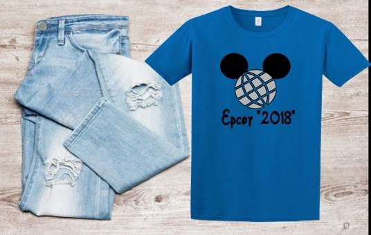 DISNEY EPCOT MICKEY T-SHIRT 2018