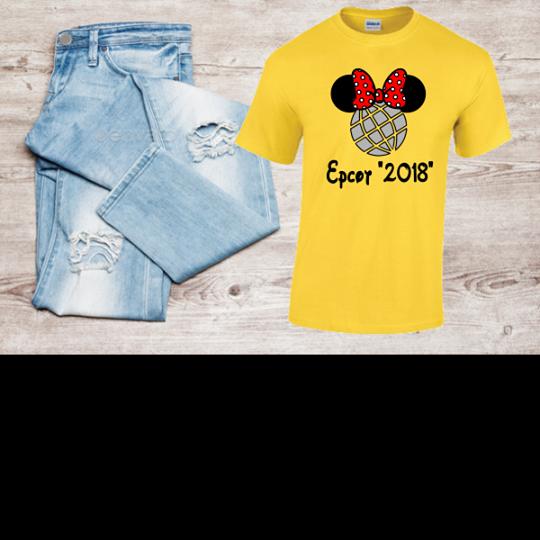 DISNEY EPCOT MINNIE T-SHIRT 2018