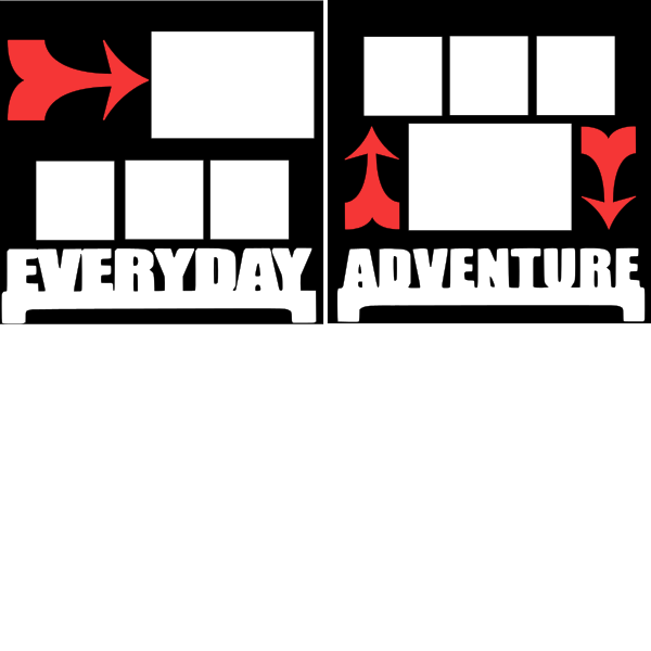 EVERYDAY ADVENTURE   -basic page kit
