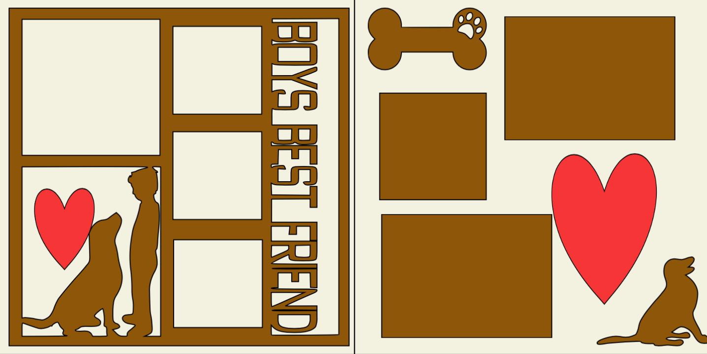 A Boys best friend (dog) -  page kit