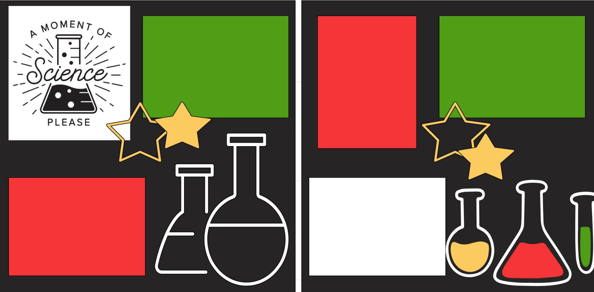 Science Fair -  page kit