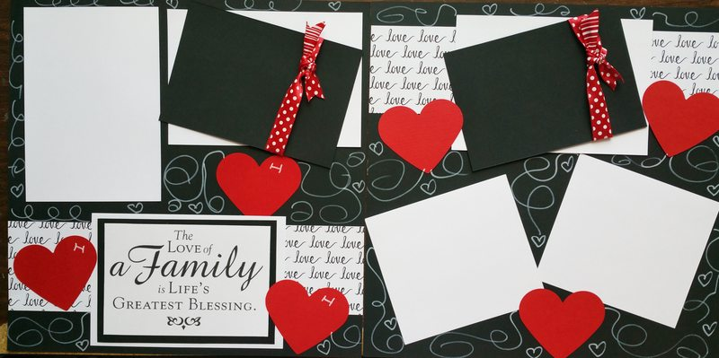 THE LOVE OF A FAMILY  page kit