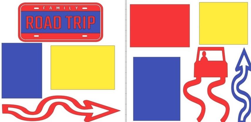 FAMILY ROAD TRIP -  page kit