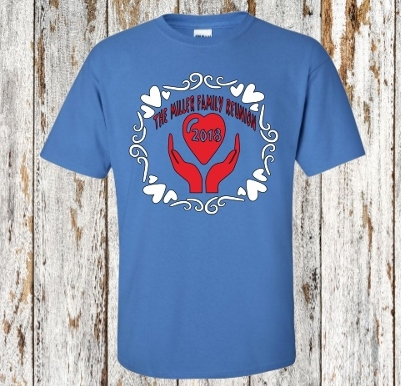 PERSONALIZED FAMILY REUNION T-SHIRTS