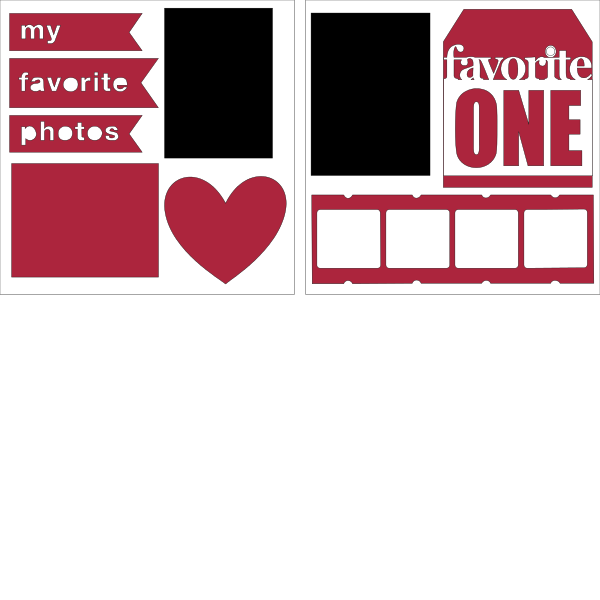 Favorite Photos--  page kit