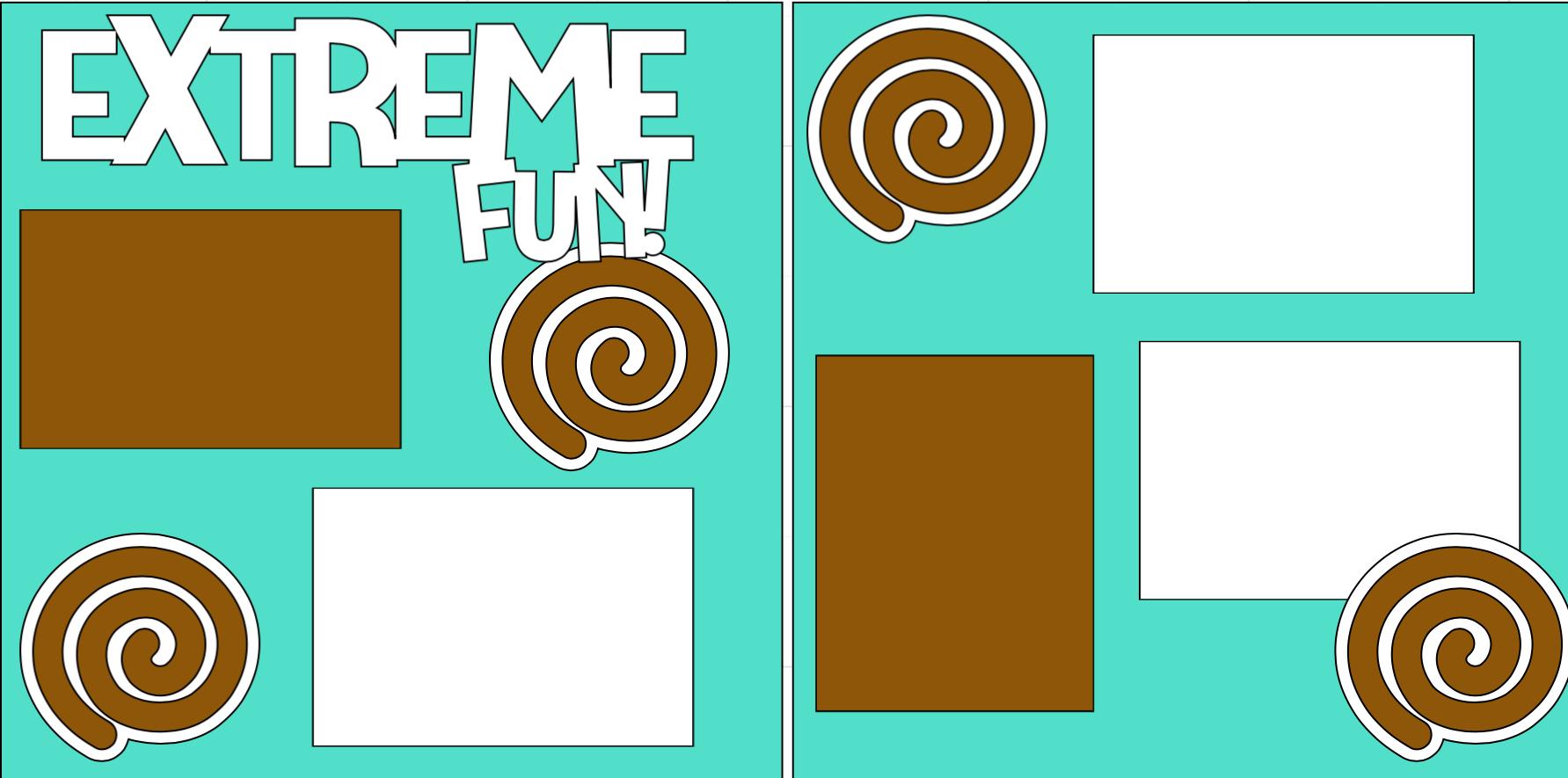 Extreme Fun -  page kit