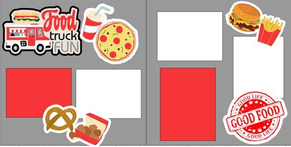 FOOD TRUCK FUN   -  page kit