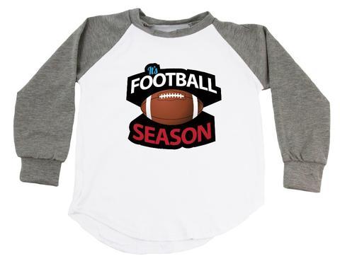 BOYS-It's Football Season Raglan T-Shirt