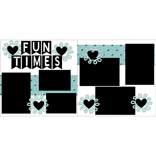 FUN TIMES ***  -basic page kit