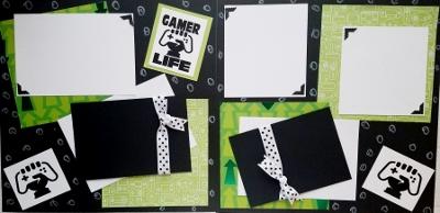 GAMER LIFE!  page kit