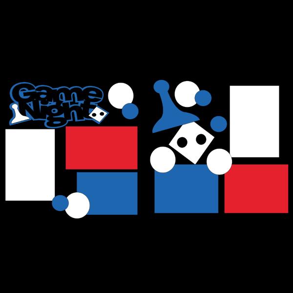 GAME NIGHT ***  -basic page kit