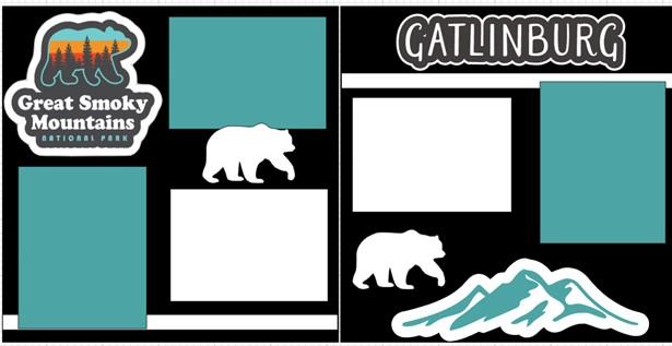 THE GREAT SMOKY MOUNTAINS (GATLINBURG)   -  page kit