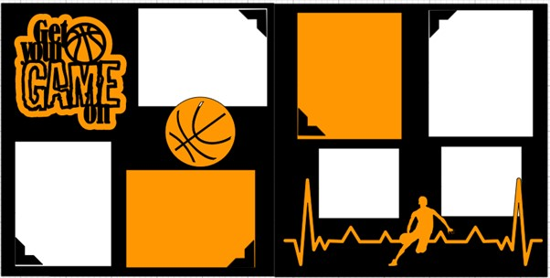 GET YOUR GAME ON BASKETBALL -  page kit