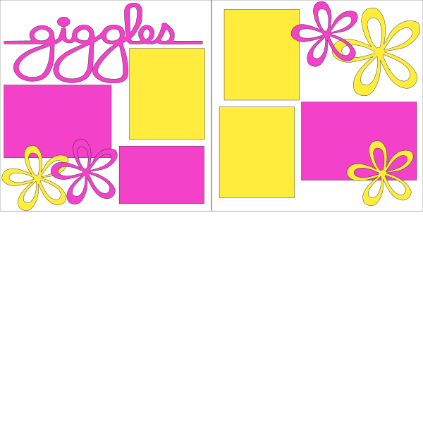 GIGGLES   -basic page kit