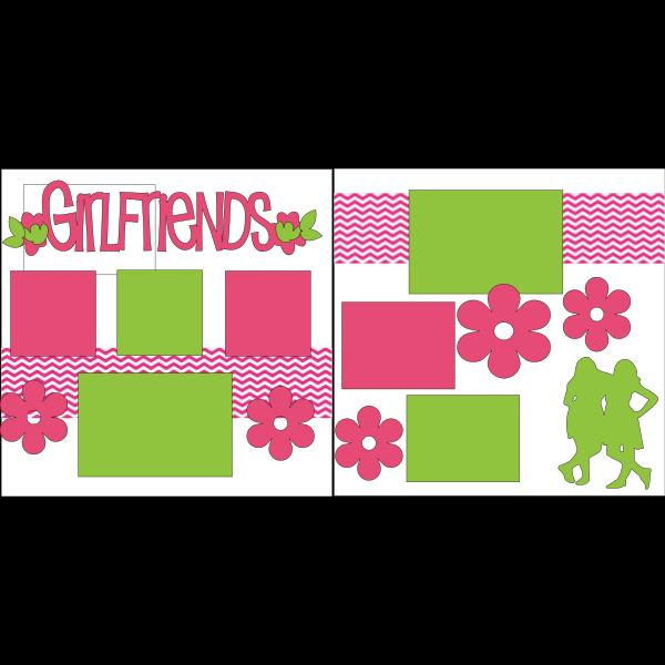 GIRLFRIENDS  -basic page kit