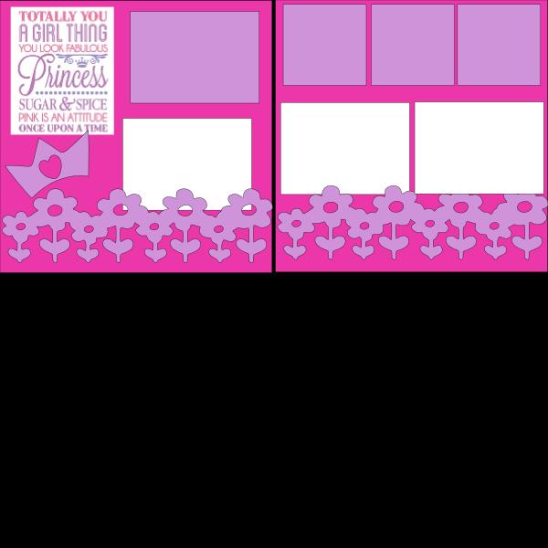 GIRL THINGS   -basic page kit