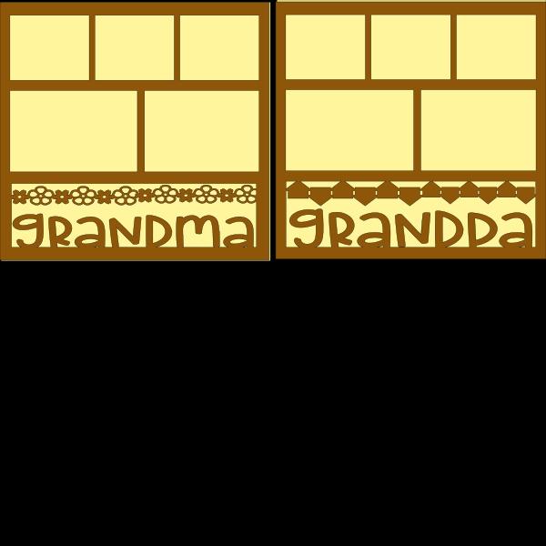 GRANDMA AND GRANDPA OVERLAYS