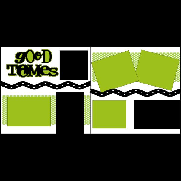 GOOD TIMES 2  -basic page kit