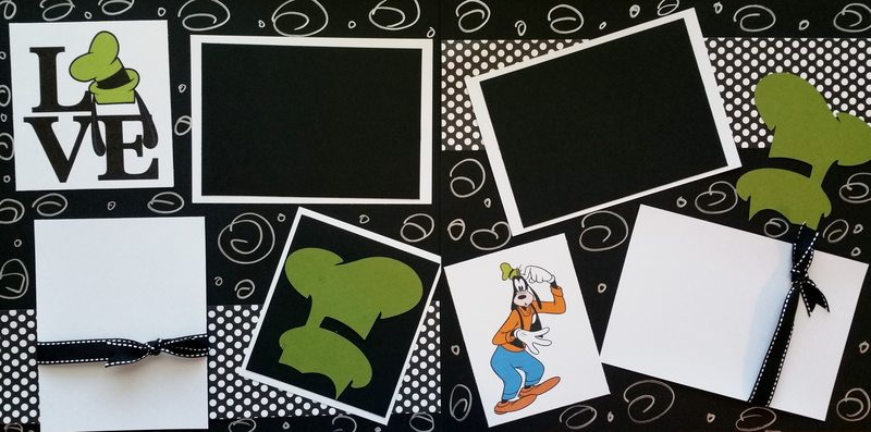 DISNEY GOOFY LOVE  page kit